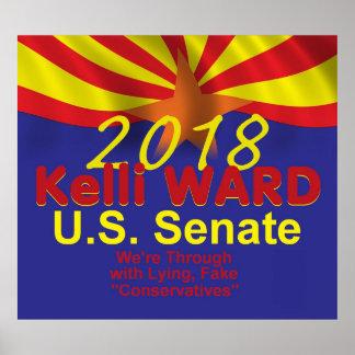 Kelli WARD 2018 Senate Poster