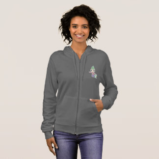 Kellpi Women's Zip Up Hooded Sweater