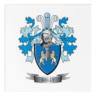 Kelly Coat of Arms Acrylic Print
