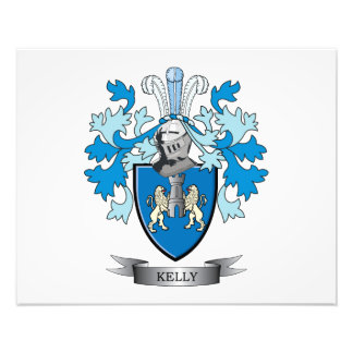 Kelly Coat of Arms Photo Print