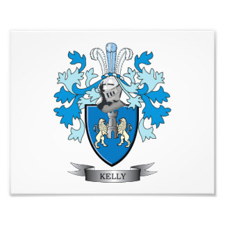 Kelly-Coat-of-Arms Photograph