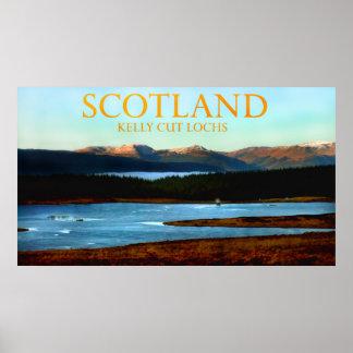 kelly cut lochs scotland print