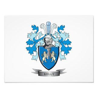 Kelly Family Crest Photo Print