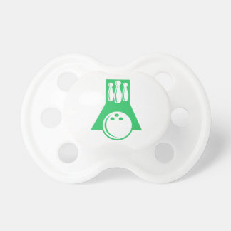 Kelly Green Bowling Pacifier