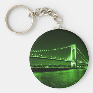 Kelly Green Bridge keychain