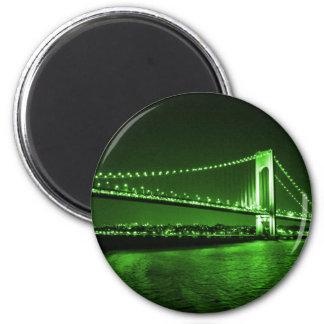 Kelly Green Bridge magnet