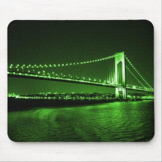 Kelly Green Bridge mousepad