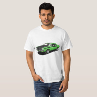 Kelly Green Challenger classic car t-shirt