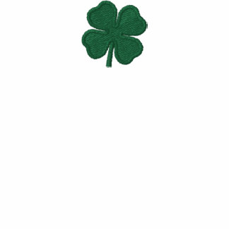 Kelly Green Custom St. Patricks Day Clover Hoodie