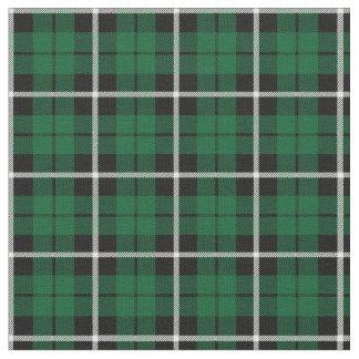 Kelly green Irish green white/black stripe Fabric