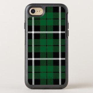 Kelly green Irish green white/black stripe OtterBox Symmetry iPhone 8/7 Case