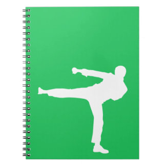 Kelly Green Martial Arts Notebook
