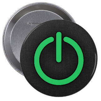 Kelly Green Power Button
