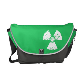 Kelly Green Toxic Waste Commuter Bags