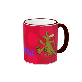 Kelly Kangaroo Ringer Mug