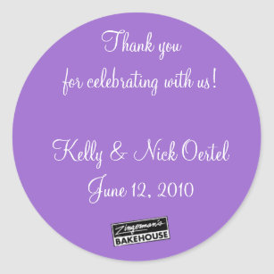 Kelly & Nick #1 Classic Round Sticker