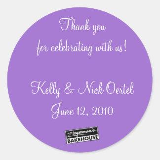 Kelly & Nick #1 Classic Round Sticker