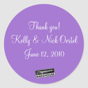 Kelly & Nick #5 Classic Round Sticker