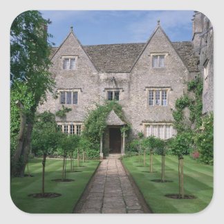 Kelmscott Manor (photo) Square Sticker
