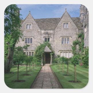 Kelmscott Manor (photo) Square Sticker