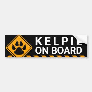 Kelpie On Board Bumper Sticker
