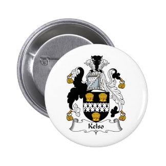 Kelso Family Crest 6 Cm Round Badge