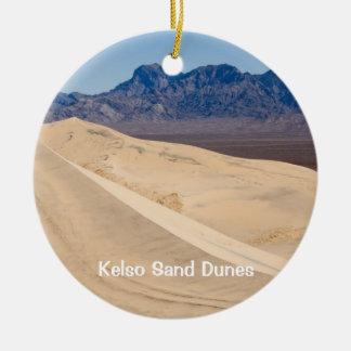 Kelso Sand Dunes Ceramic Ornament