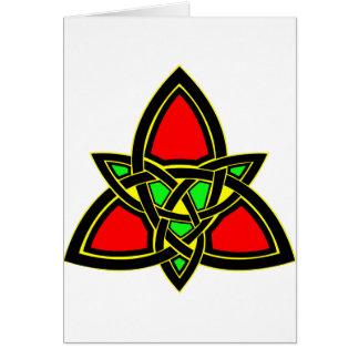 Kelts Celtic Knot Design Card