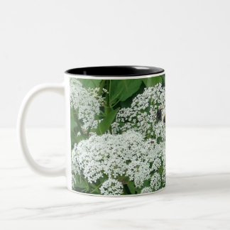 Kelvingrove Bees Two-Tone Coffee Mug