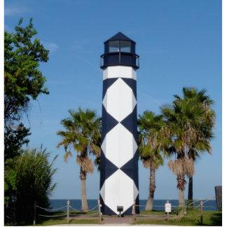 Kemah Lighthouse photo sculpture