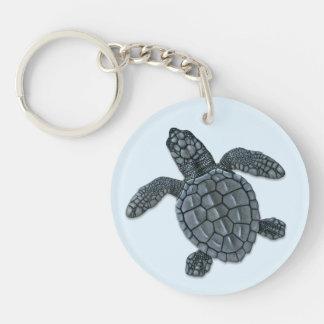 Kemp's Ridley Sea Turtle Hatchling Keychain