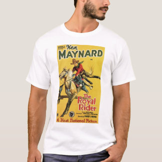 Ken Maynard 1929 vintage movie poster T-shirt