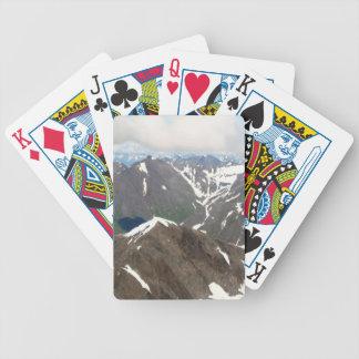 Kenai Mountains, Alaska Bicycle Playing Cards