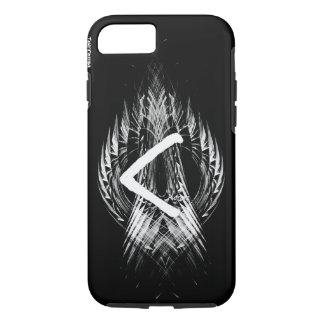 ☼KENAZ - RUNE OF REGENERATION & FIRE☼ iPhone 8/7 CASE