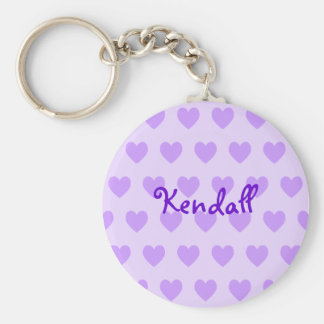 Kendall in Purple Key Ring