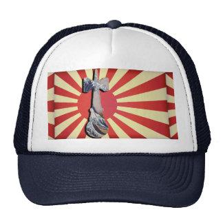 Kendama Wave Lighthouse with Vintage Japan Flag Cap