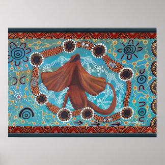Kendi Dreaming Poster by Mundara