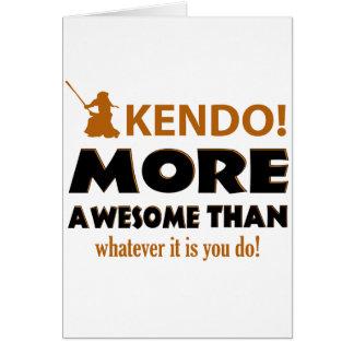 KENDO DESIGN CARD