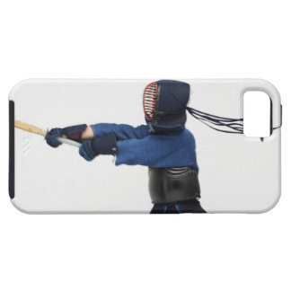 Kendo Fencer Practicing iPhone 5 Covers