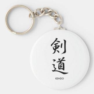 Kendo - Kendou Basic Round Button Key Ring