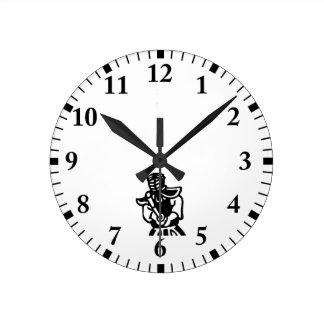 Kendo Round Clock