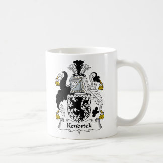Kendrick Family Crest Coffee Mug