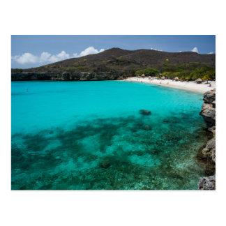Kenepa Grandi beach,Curacao Postcard