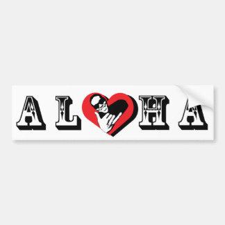 Kenji Aloha Bumper Sticker