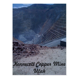 Kennecott Copper Mine Post Card