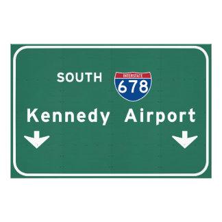 Kennedy Airport JFK I-678 NYC New York City NY Art Photo