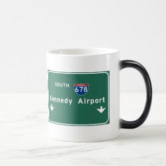 Kennedy Airport JFK I-678 NYC New York City NY Magic Mug