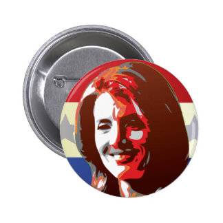 Kennedy Begins Campaign For Senate 6 Cm Round Badge