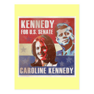 Kennedy Begins Campaign For Senate Postcards
