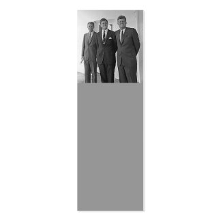 Kennedy Brothers, John, Ted, Robert Business Card